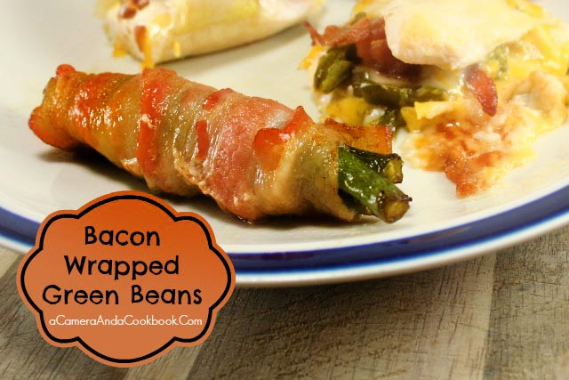 Bacon Wrapped Green Beans {Savory}