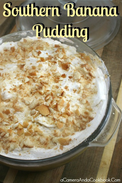 How can anyone not love Southern Banana Pudding?  It's so easy and just one of my all time favorite desserts!