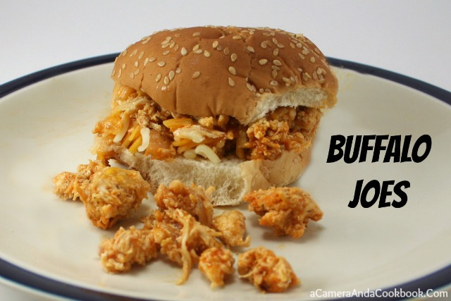 Buffalo Joes - Looking for an easy recipe that uses up that chicken you have in the fridge?  This Buffalo Chicken recipe is a great solution!