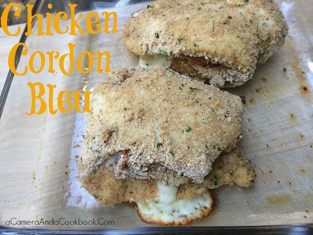 Chicken Cordon Bleu - Ready in under an hour!