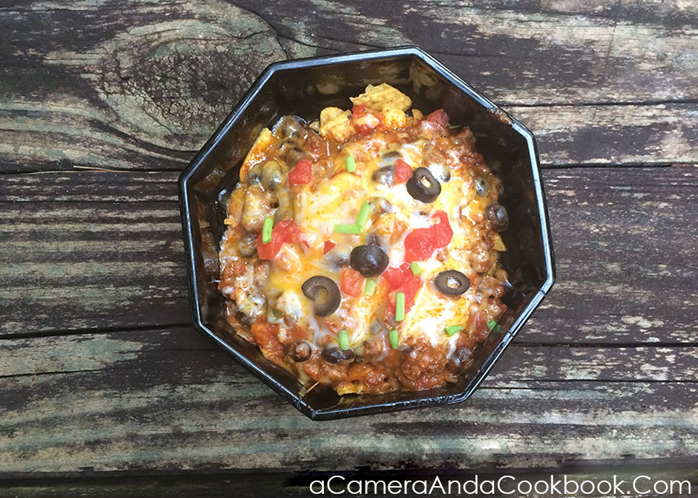 Dorito Chili Bowl - Quick and Easy - Ready in about 15 minutes!