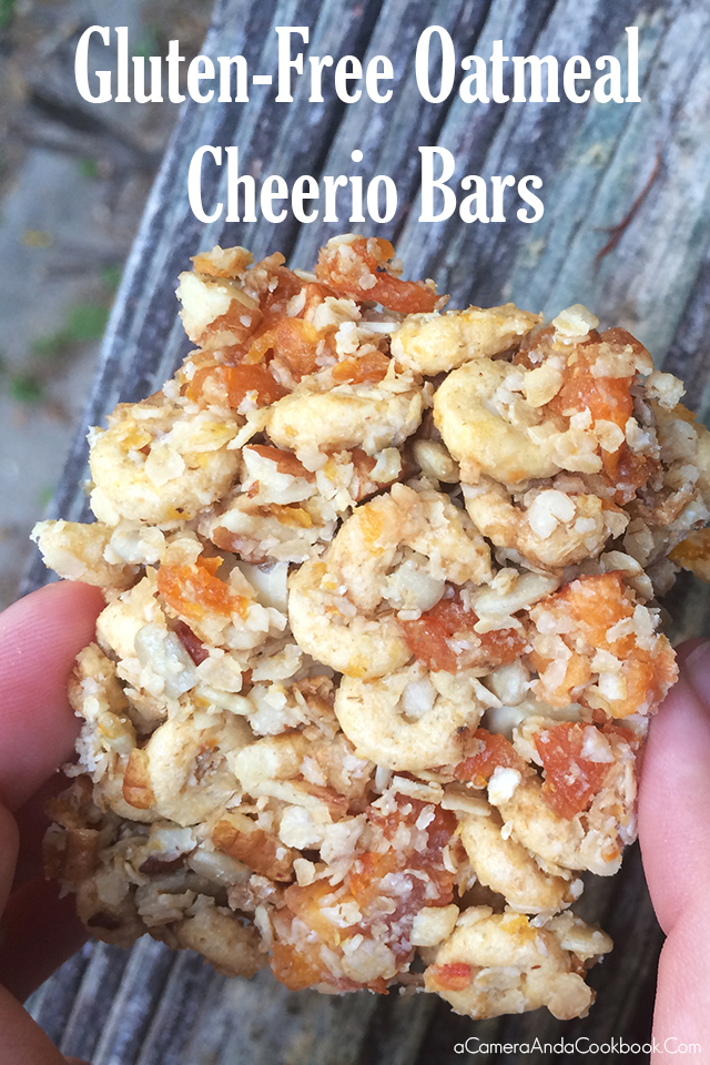Gluten-Free Oatmeal Cheerio Bars  #ad