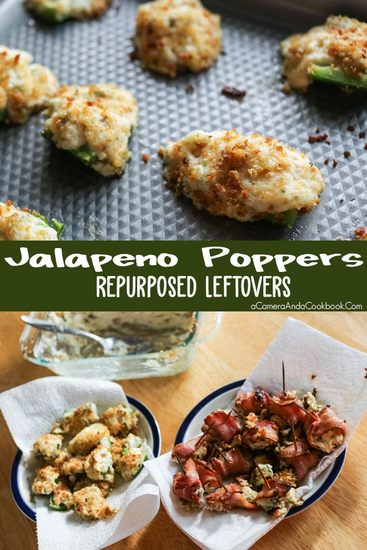 Jalapeno Poppers - Repurposed Leftovers