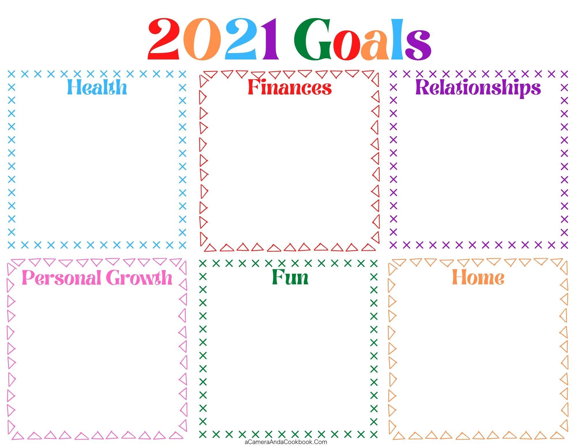 2021 Goals Color - PDF