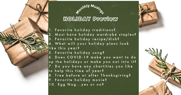 November Monthly Musings-Christmas