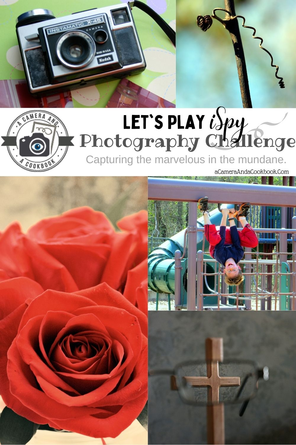 iSpy Photography Challenge - Join in on the fun every Saturday. Open your eyes to better photography by looking for the marvelous in the mundane!