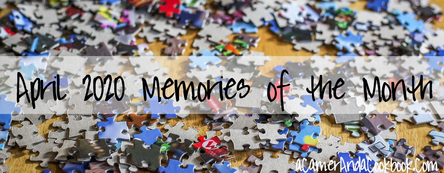 Memories of the Month - Here's a great idea for wrapping up the month with a set of questions to remember how your last month with.  I love going back and reading through what happened throughout the years.