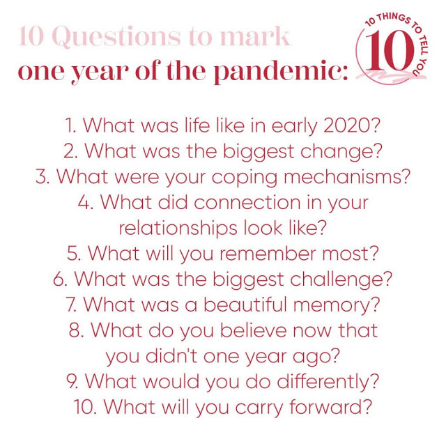 A Year of Pandemic