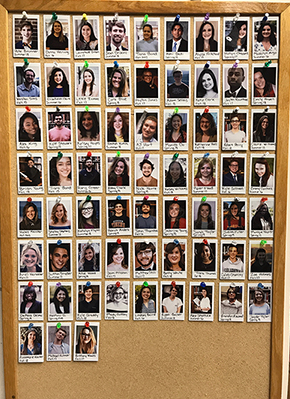 Student Board made Instax