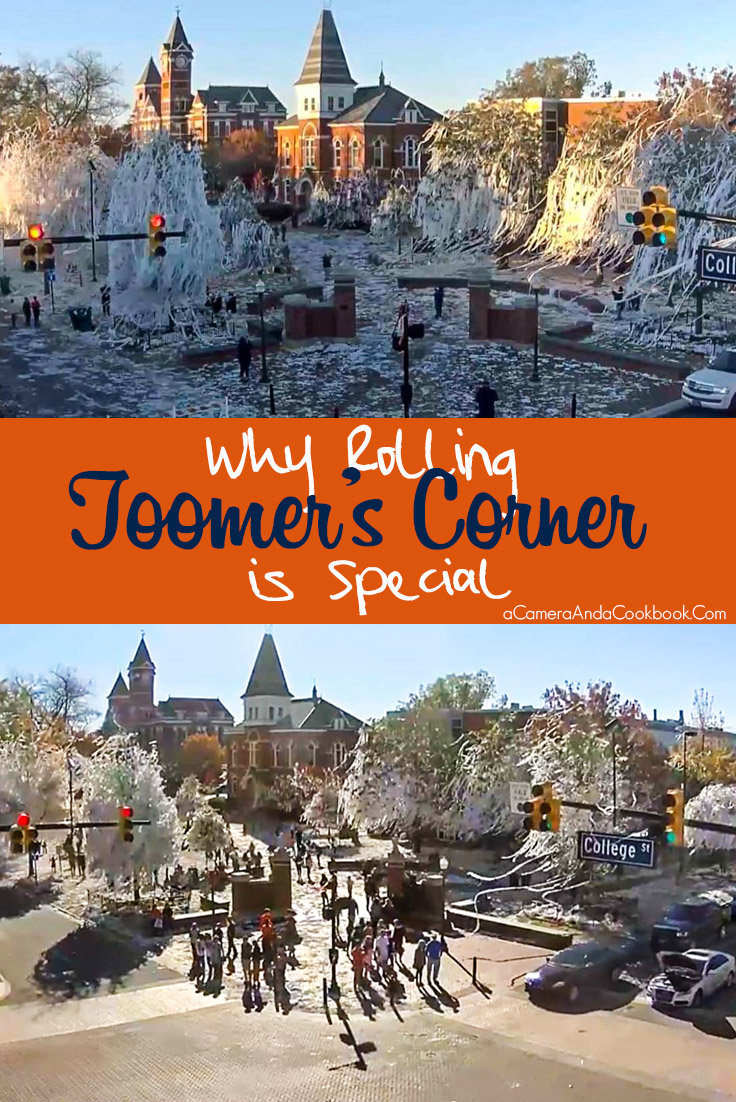 Why Rolling Toomer's Corner is Special