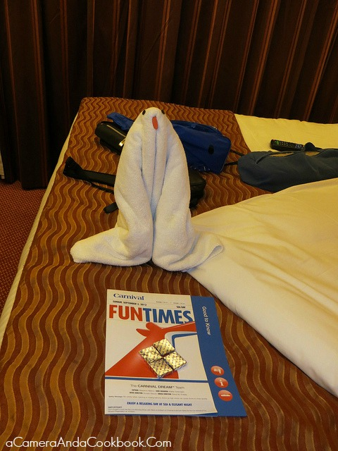 Carnival Dream {Day 1} - Day of Embarkation