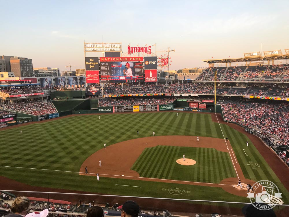 National's Baseball Game - Washington DC