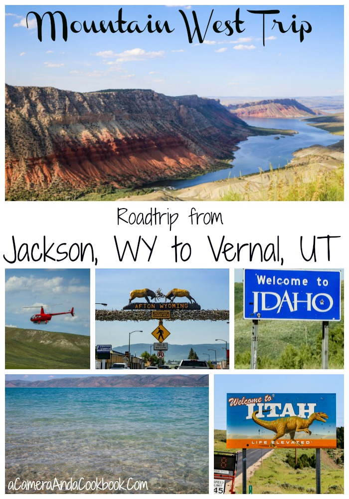 Mountain West Trip: Roadtrip from Jackson, WY to Vernal, UT