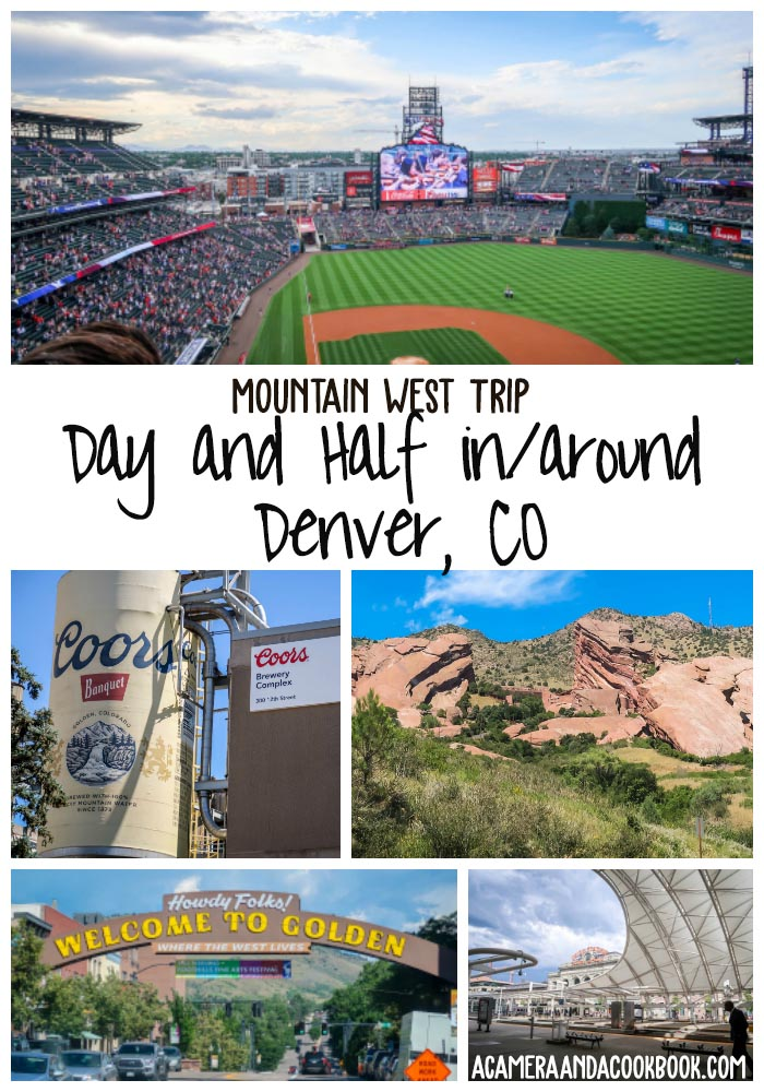 Mountain West Trip: Denver, CO