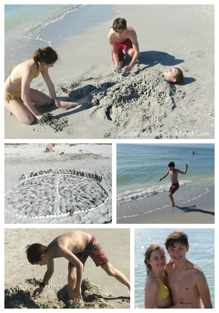 Sanibel Island Fun on the Beach