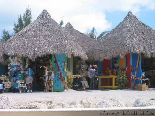Shops on the Private Island