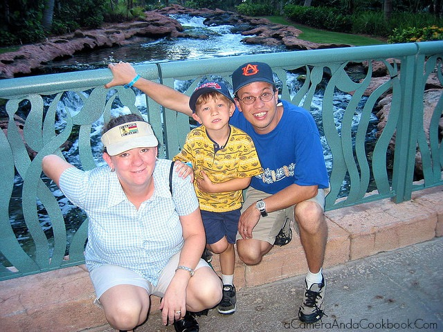 Family at Atlantis