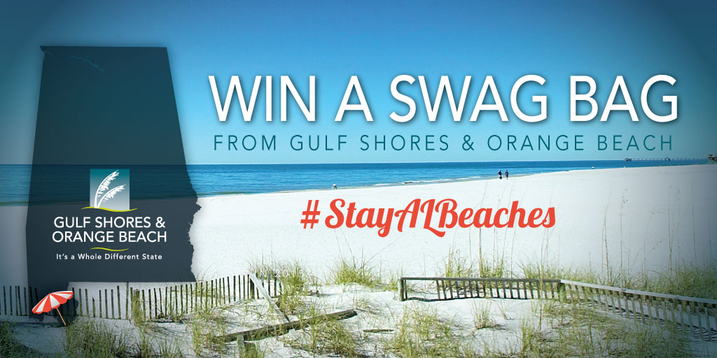 Win an Alabama Beaches Swag Bag! #StayAlBeaches