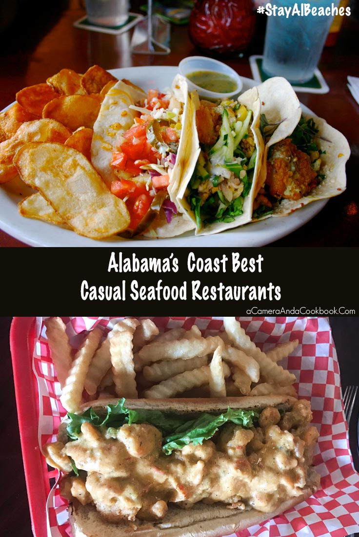 Alabama Coast Top Casual Seafood Restaurants  #StayAlBeaches