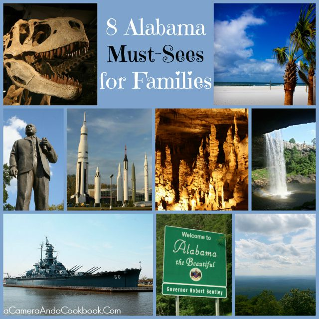 Alabama Must-Sees for Families #alabamaroadtrip #ad #sponsored