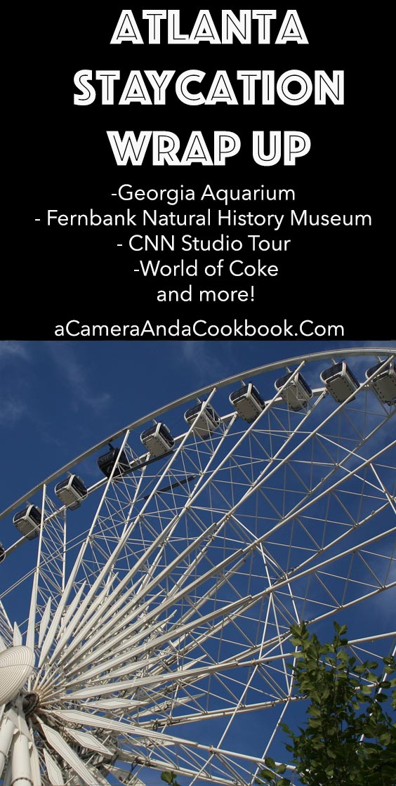 -Georgia Aquarium  - Fernbank Natural History Museum  - CNN Studio Tour  -World of Coke and more!
