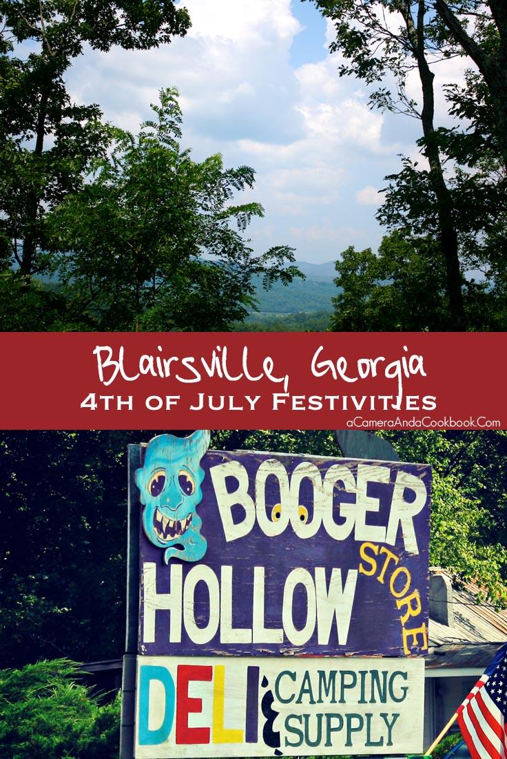 Blairsville, Georgia 4th of July Festivities