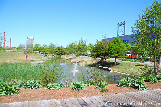 Railroad Park in Birmingham