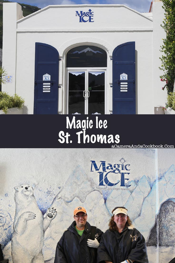 "Magic Ice - St. Thomas -->Calling all Ice Bar lovers! If you're in St. Thomas check out the Magic Ice. Slide down the ice slide and have a shot or two.""></a></div> <p>One of the things we did during our day in St. Thomas was to go a place called <a href="