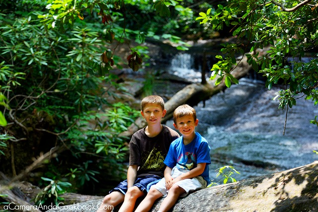 4th of July trip to Murphy, NC - My Boys