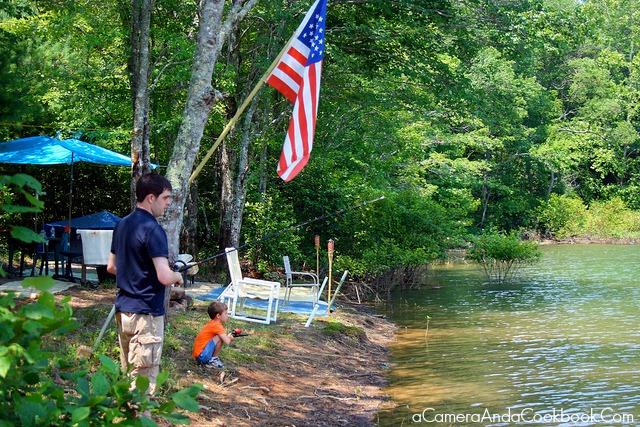 4th of July trip to Murphy, NC - Fishing
