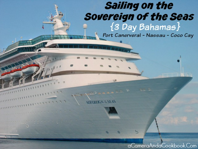 Thinking of going on a cruise?  Read here about sailing the Sovereign of the Seas with Royal Caribbean. Port Canaveral to Nassau (Paradise Island) to Coco Cay in 3 days!