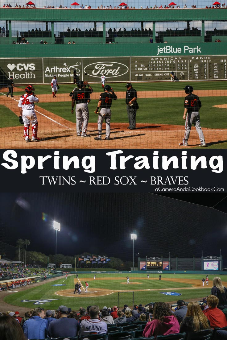 Spring Training 2018 - Grapefruit League - Twins - Red Sox - Braves